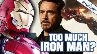 Too Much IRON MAN In The MCU & Spider-man: Homecoming?
