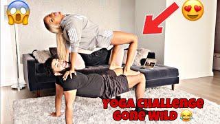 COUPLES YOGA CHALLENGE!!! FT. Jayla Koriyan