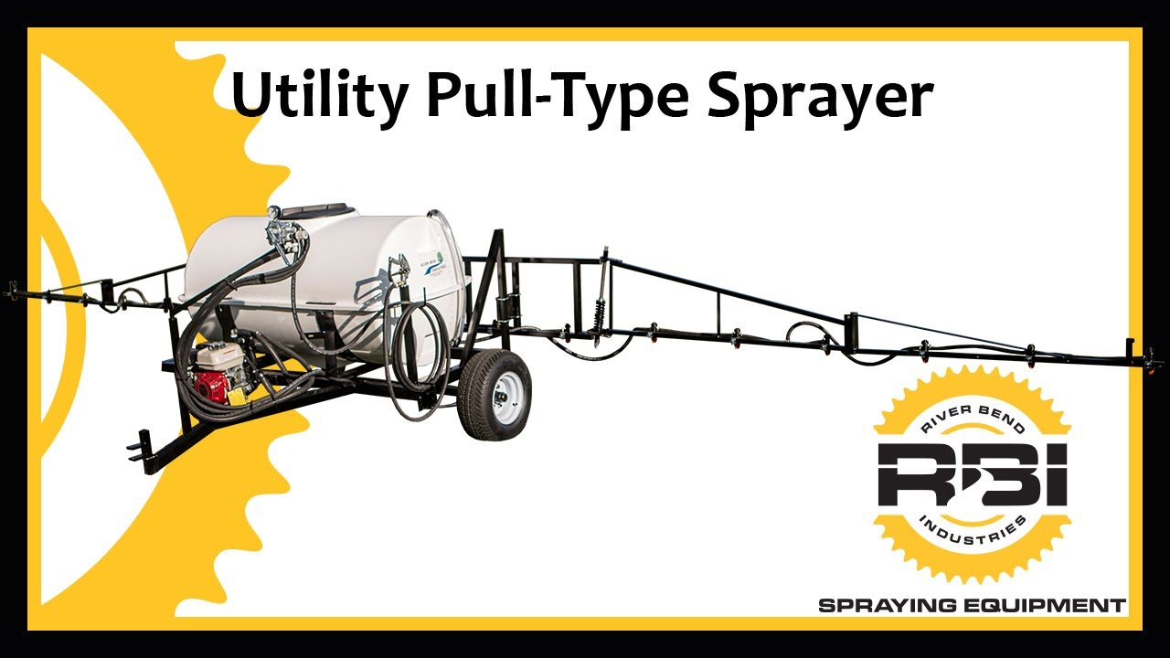 ATV Pull Type Sprayer - 200 Gallon - 30' Breakaway Booms - Manual Control