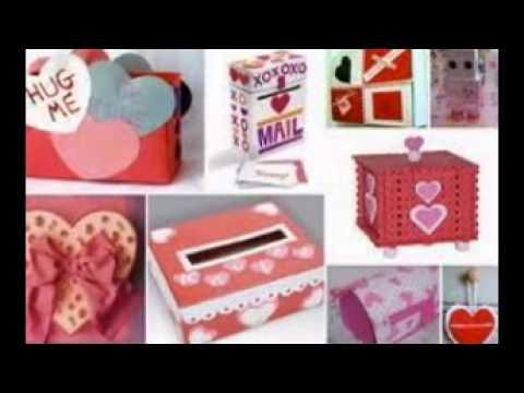 Valentines Boxes - YouTube