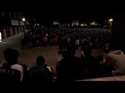 Multitudinaria movilización en Xove por el futuro de Alcoa en San Cibrao