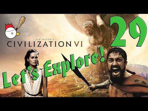 CIVILIZATION VI [ITA] Let's Explore 29# - QUESTA È SPARTAAAAA!