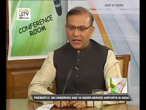 MoS for Civil Aviation Jayant Sinha speaks to Lok Sabha TV on civil aviation policy & remonetisation