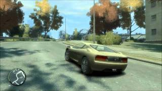 GTA IV  Gameplay (Low settings vs Medium settings) On HP DV7 6490M
