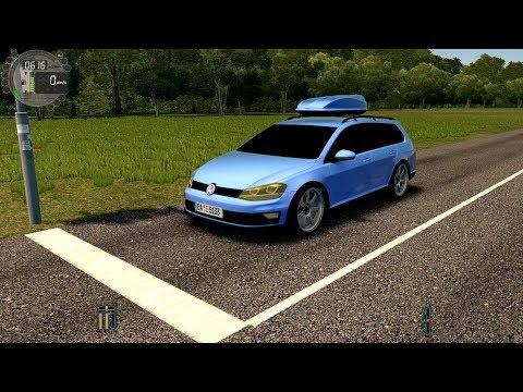 City Car Driving - Volkswagen Golf Alltrack 1.8 DSG | Normal Driving