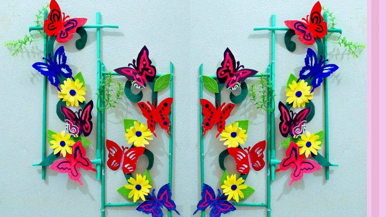 Paper Craft Ideas For Room Decoration Wall Decoration With Paper
