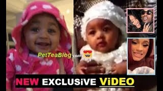 New Video of Cardi B baby Kulture Kiari Cephus + Exclusive Footage 😍❤️📷
