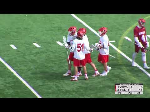 Highlights: Cornell MLAX vs Harvard - 4/7/18