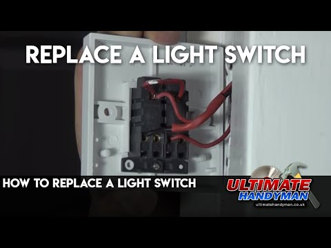 How to replace a light switch - Ultimate Handyman DIY tips