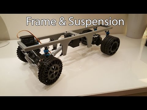 3D printed RC truck V3: Frame and suspension