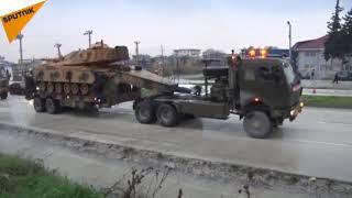 Beginning of Turkeys Military Operation in Northern Syria