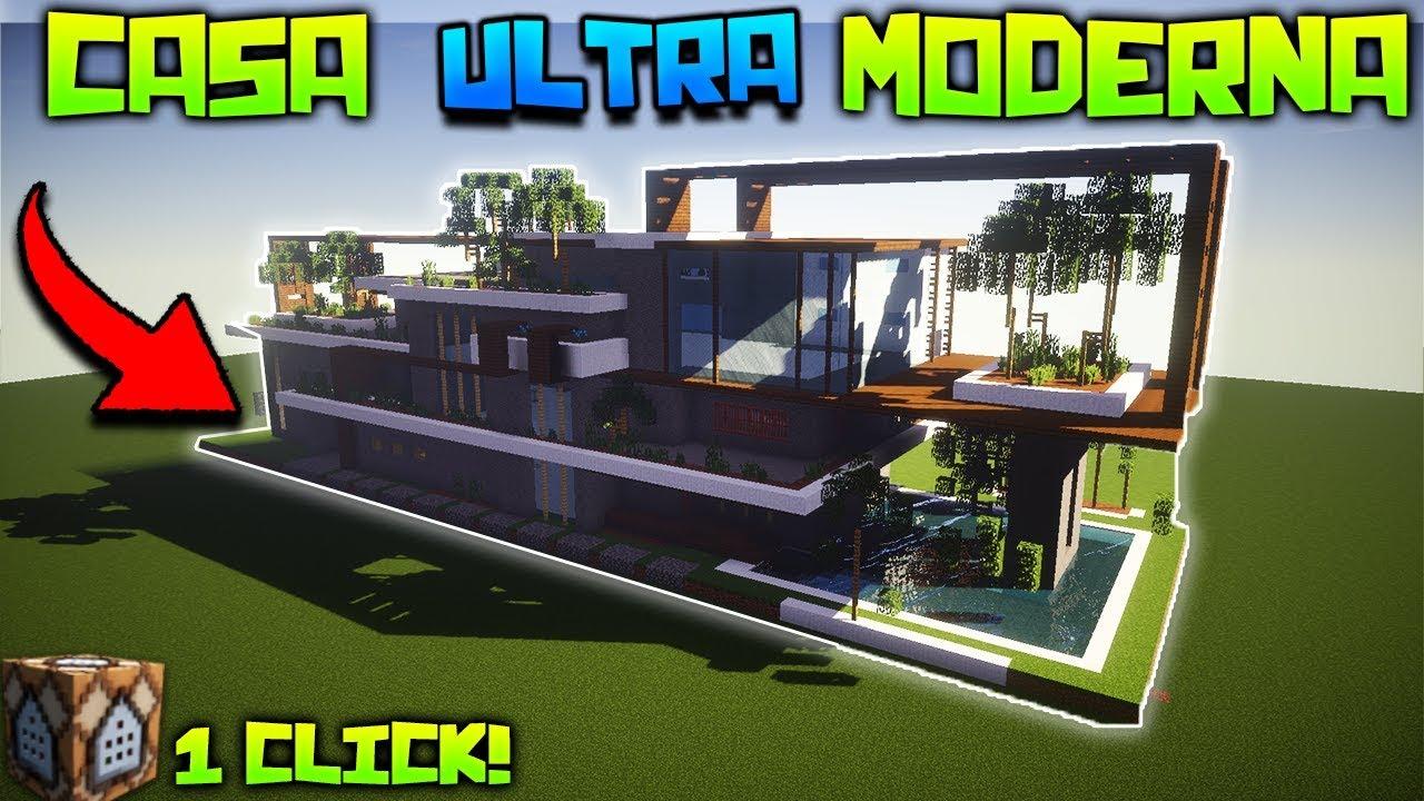 Casa ultra moderna con un solo comando tutorial for Casa ultramoderna
