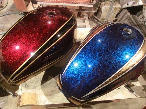 バイク塗装の仕方 徹底解説 ゼファー1100編 カスタムペイント