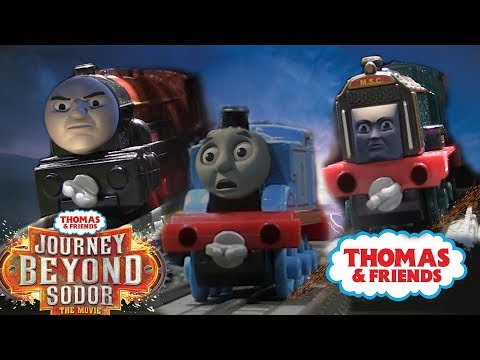 THOMAS ESCAPES and is CHASED by FRANKIE and HURRICANE