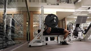 Week 7 Day 6 - Push (Chest/Delts Emphasis)