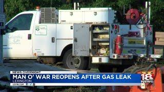 Man O' War Reopens After Gas Leak
