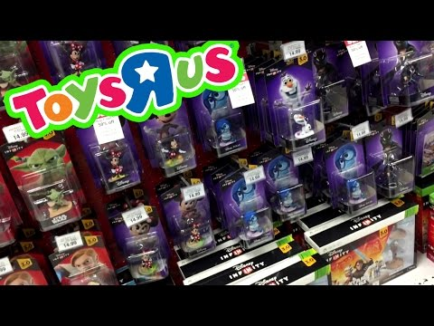 Picking Up Disney Infinity 3.0 At Toys R Us [Video Game Shopping By Myself =( ]