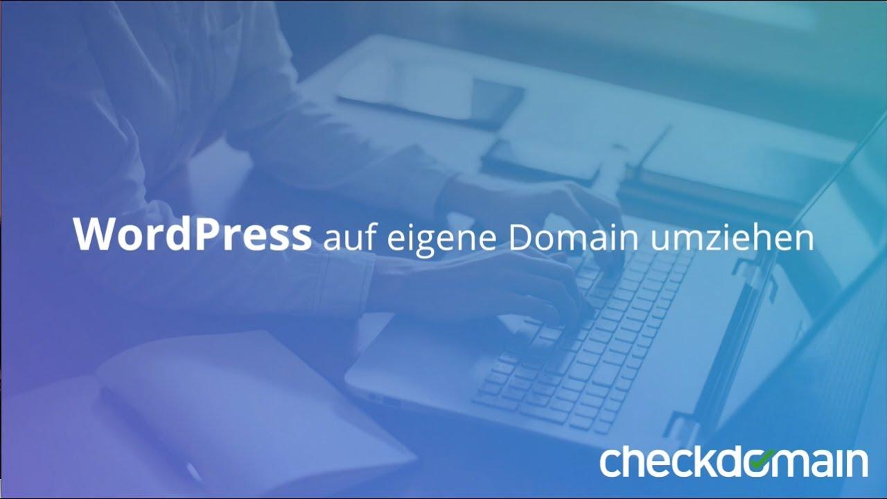 Eigene Domain com auf eigene domain umziehen