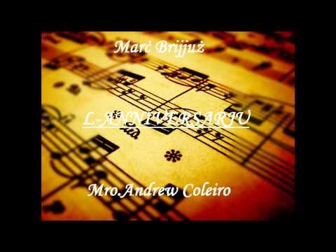 Marċ Brijjuż. L-Anniversarju- Mro.Andrew Coleiro