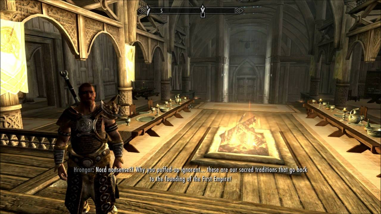 Skyrim Gameplay - {Part 13} A Long Talk With The Jarl {Gameplay ...