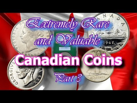 Repeat 10 RARE CANADIAN COINS WORTH MONEY - VALUABLE CANADIAN COINS