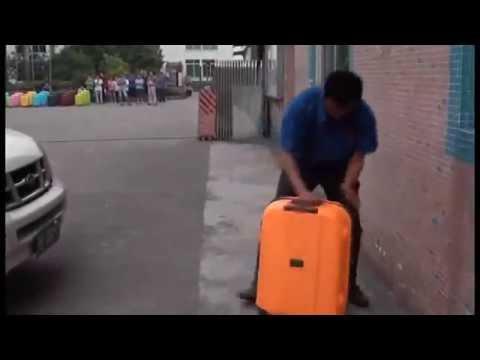 Чемодан из Поликарбоната Baudet Неубиваемый!!! Краш-тест чемодана