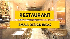 70+ Amazing Small Restaurant Design Ideas We love!
