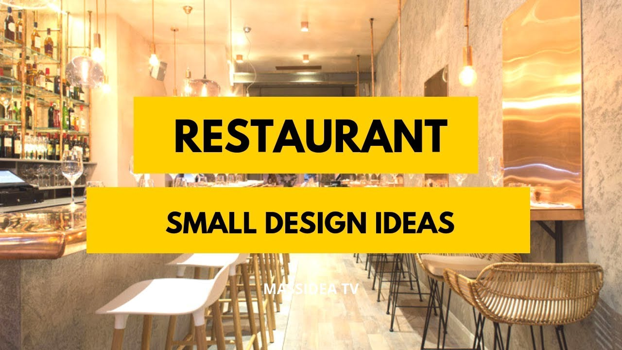 70+ Amazing Small Restaurant Design Ideas We love! - YouTube