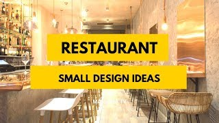 70  Amazing Small Restaurant Design Ideas We Love!
