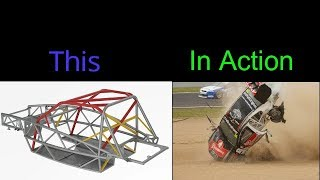 High Speed Rollovers | Amazing roll cages, unbelievable moments (#1)