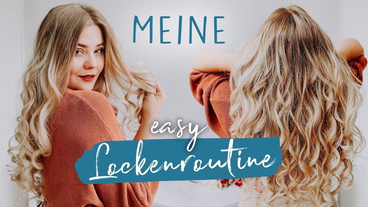 Easy Locken Die Lange Bei Jedem Halten Für Glatte Lange Mittellange Haare Tutorial
