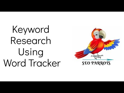 Keyword Research Using Word Tracker For Free