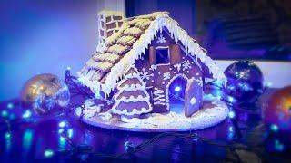 Сказочный пряничный домик🏰подробный мк+схема🏰Gingerbread house