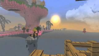 Plastic Beach in Minecraft [Gorillaz]