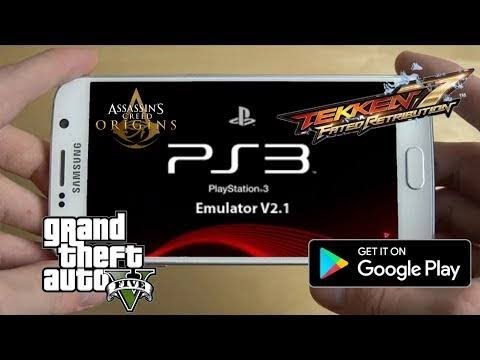 Download PS3 EMULATOR For Android With Play Fortnite GTA 5 On Android ll