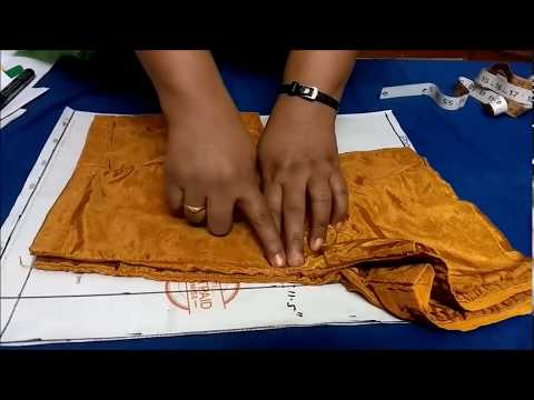 Blouse Cutting In Tamil- Part 1