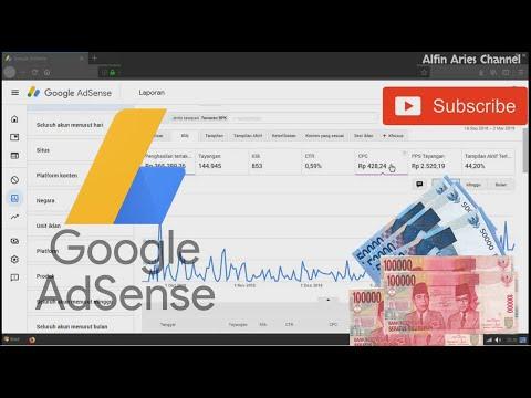 Gaji/Penghasilan dari Adsense Blogger Pemula