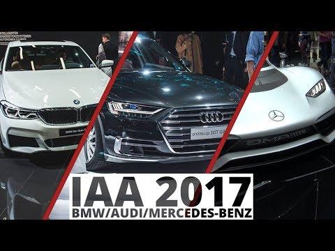 Frankfurt 2017 - Audi, BMW, Mercedes