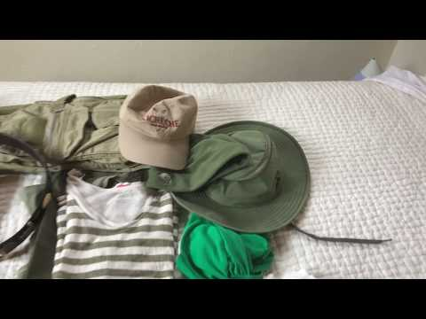 Safari Specialist shows you How to Pack for an African Safari