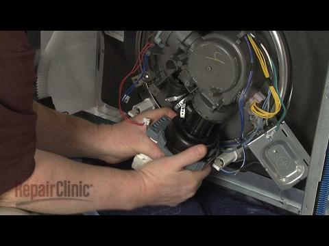 Circulation Pump - KitchenAid Dishwasher Model #KDTE204EPA3