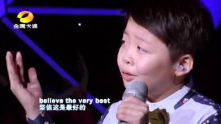 10 Year Old Jeffrey Li Singing Can you Feel The Love Tonight from Lion King
