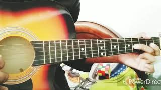 Airtel tune on single string Guitar/ Easy Song to play on Guitar