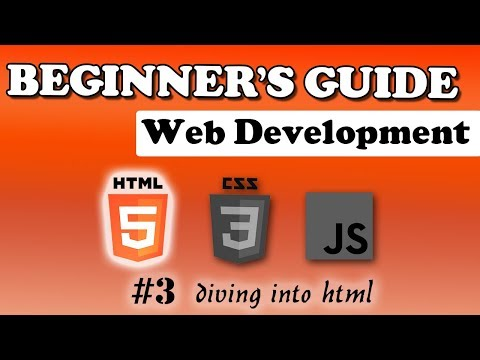 HTML Course - Diving Into HTML | Beginner's Tutorial | #3