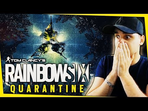 NOUVEAU JEU RAINBOW SIX QUARANTINE !!!