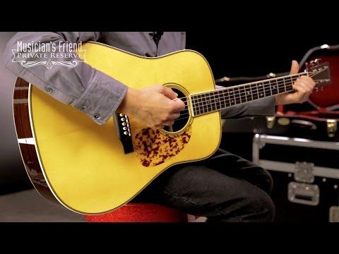 Martin Custom Limited Edition CS-Bluegrass Dreadnought Acoustic Guitar