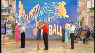 Tango Argentino 3 lezione TI PORTO A BALLARE 05.10.12 i fatti vostri