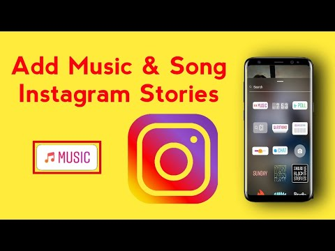 How to add music and song lyrics to your instagram story