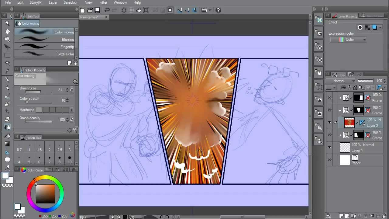 clip studio paint ex manga studio ex5 overview 01
