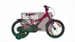 Детский велосипед Scool XXlite 16 2016. Обзор