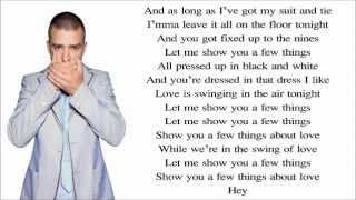 Repeat youtube video Justin Timberlake ft. Jay-Z - Suit & Tie (Lyrics) Video